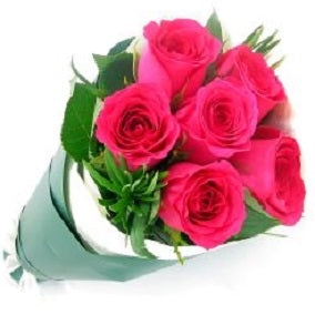 Pink Rose Bunch - FWR - Arabian Petals