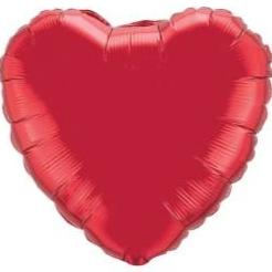 Red Heart Balloon - Arabian Petals
