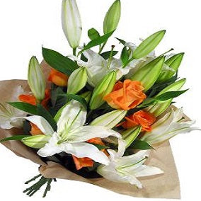 Roses and Oriental Lilies - FWR - Arabian Petals