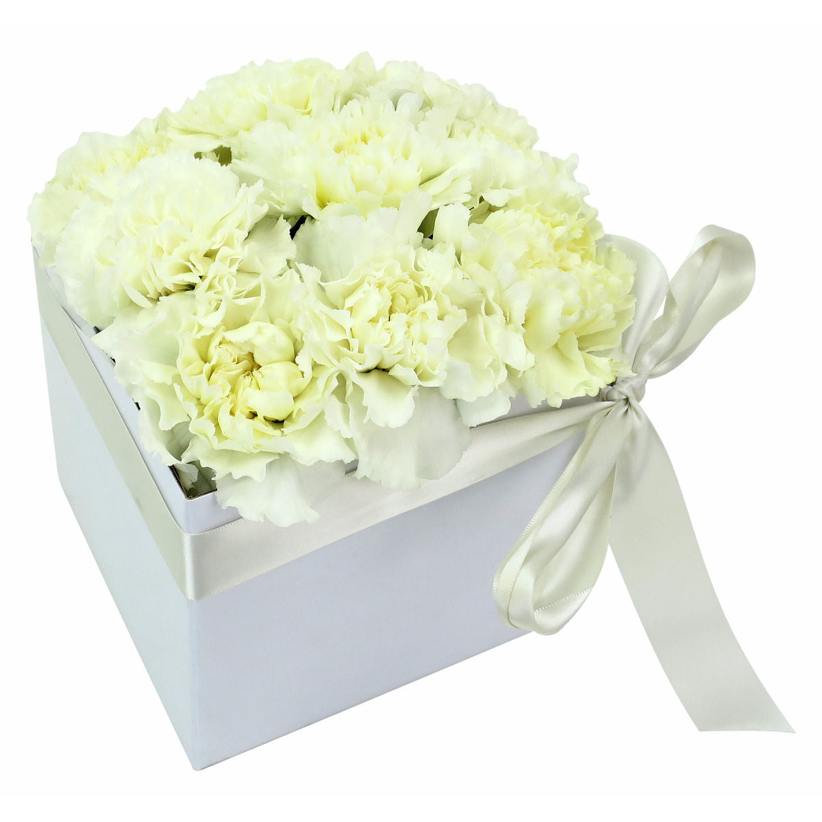 White Little Flower Box
