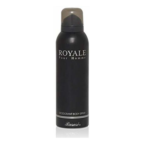 Rasasi Royale Deo Spray For Men 200ml - Arabian Petals