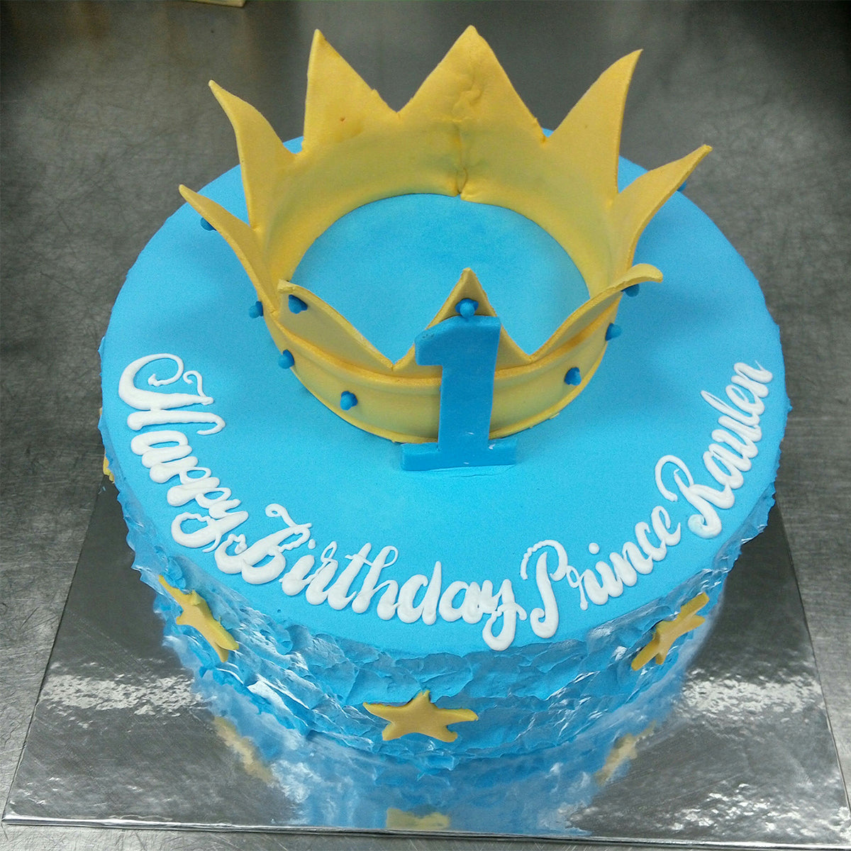 Blue Birthday Cake - CWD - Arabian Petals