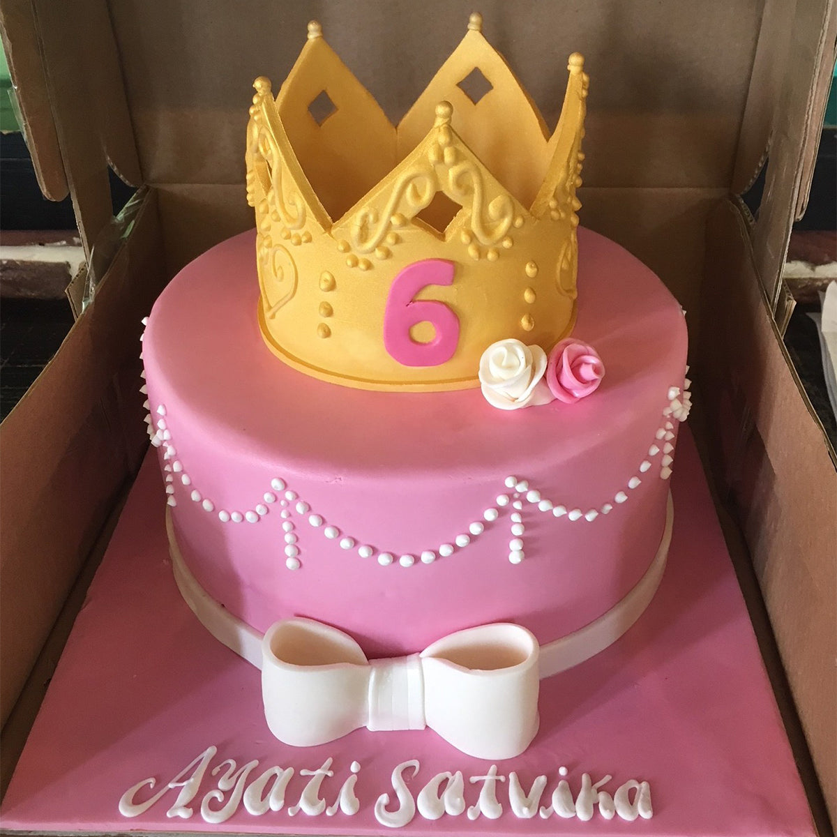 Little Queen Cake - Arabian Petals