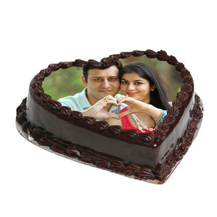Cake From The Heart - VD - Arabian Petals