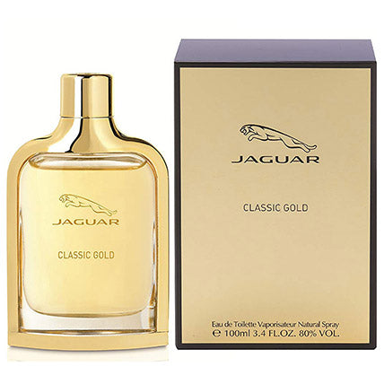 Classic Gold Edt By Jaguar For Men 100 Ml - Arabian Petals