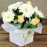 Peaches and Cream Flower Box - Arabian Petals