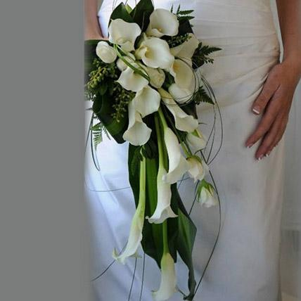 Elegant Wedding Bouquet - FWR - Arabian Petals