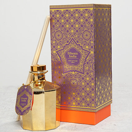 Ethnic Reed Diffuser In Gift Wrap - Arabian Petals