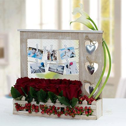 Fascinating Personalized Flower Arrangement - Arabian Petals