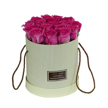 Flowers - Adorable Pink Roses Box