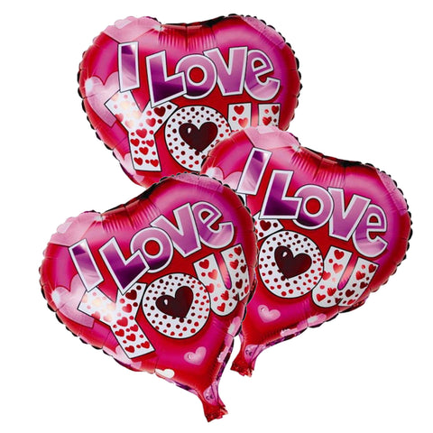 I Love You Foil Balloons - Arabian Petals