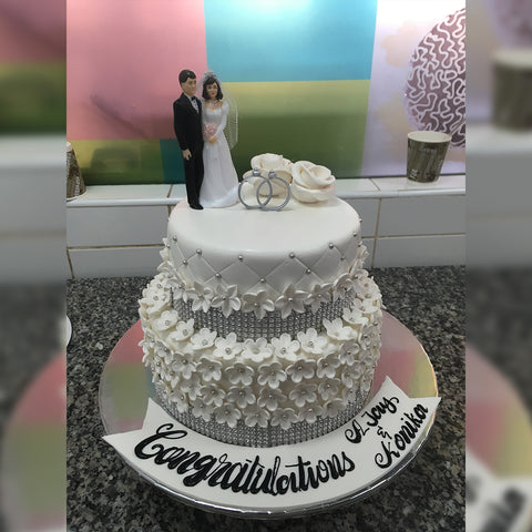 Marriage Cake - CWD - Arabian Petals