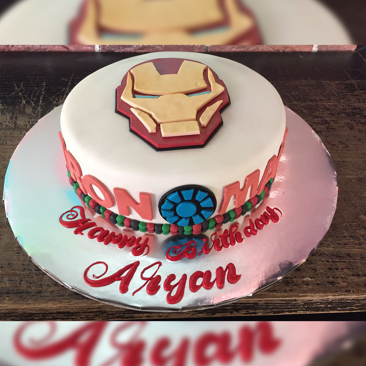 Iron Man Cake - CWD