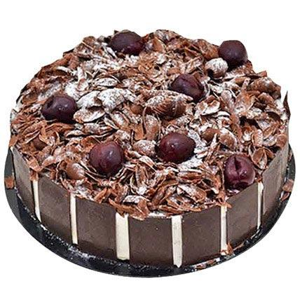 Four Portion BlackForest Cake - Arabian Petals