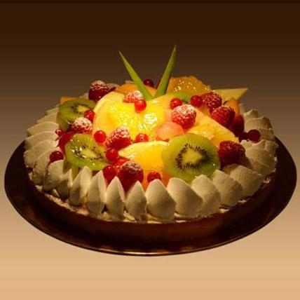 Fruit Tart Cake