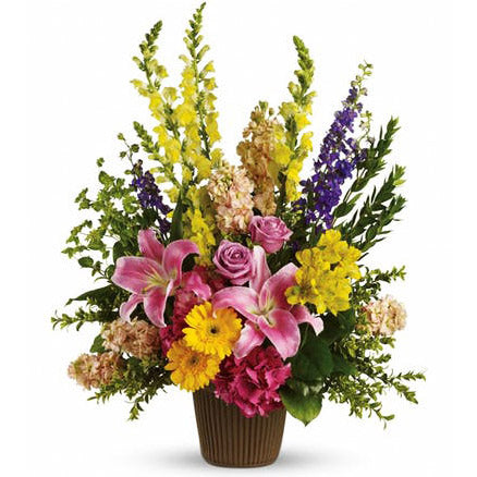 Glorious Flower Arrangement - Arabian Petals