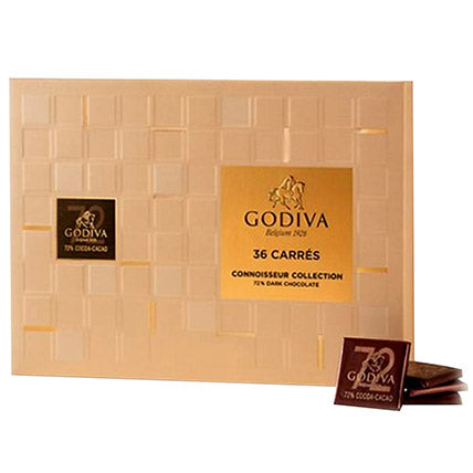 Godiva Dark Chocolate Carre