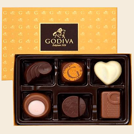 Godiva Discovery Chocolate Box - Arabian Petals