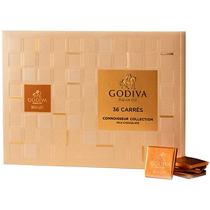Godiva Milk Chocolate Carre