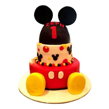 Lovely Mickey Cake - Arabian Petals