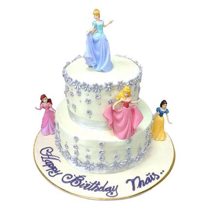 Lovely Princess Cake - Arabian Petals