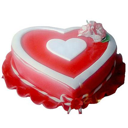 Marvelous Heart Shape Cake - Arabian Petals