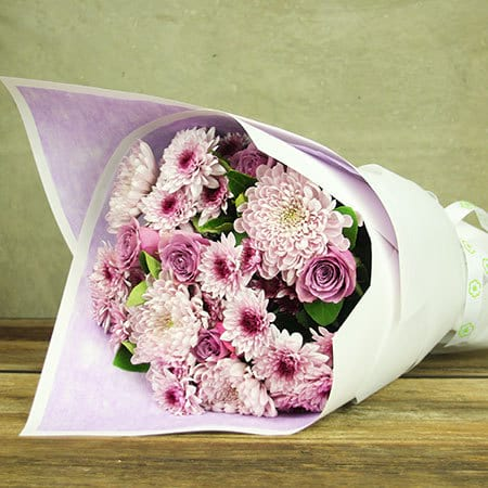 PERFECT PURPLE BOUQUET - Arabian Petals