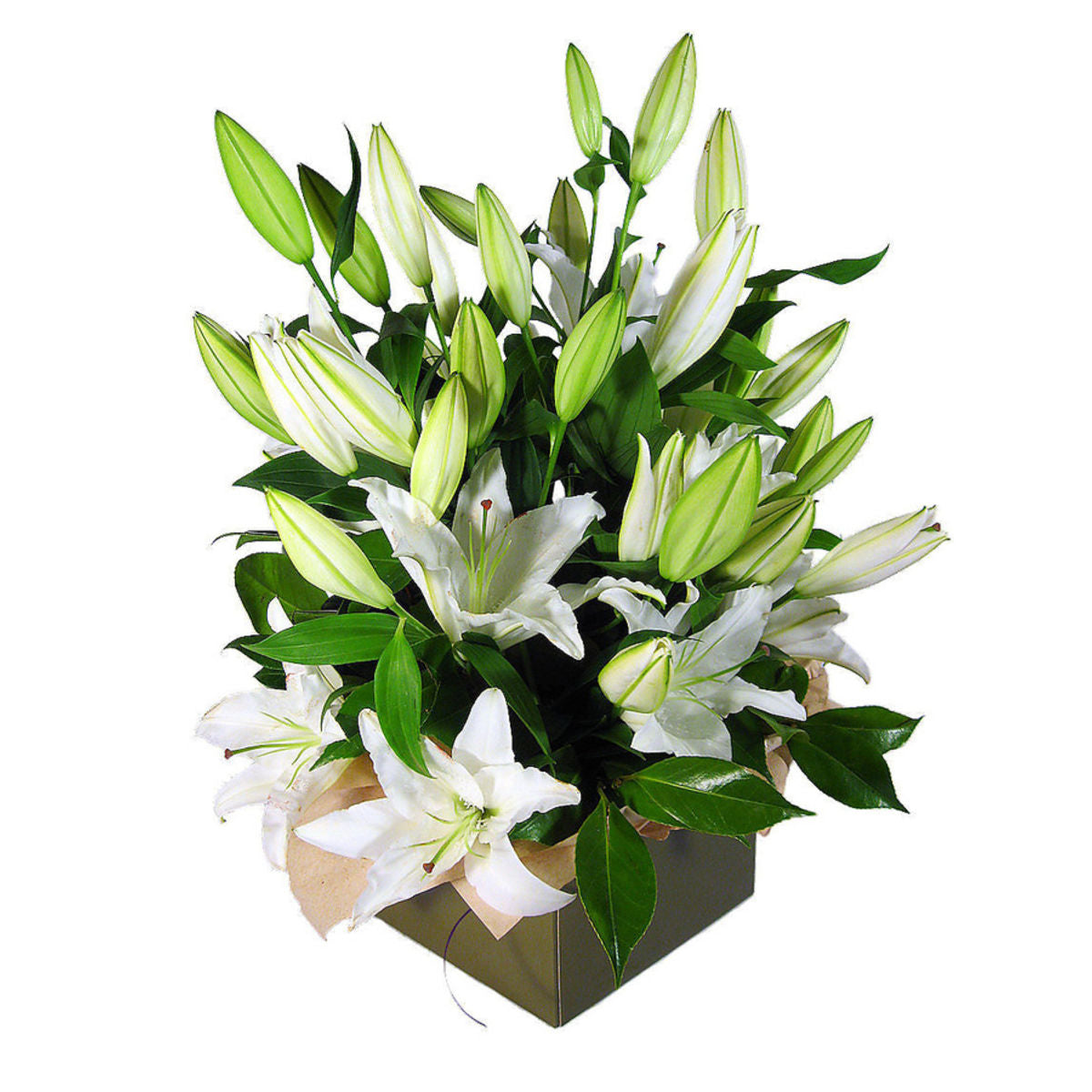White Lillies Box - Arabian Petals