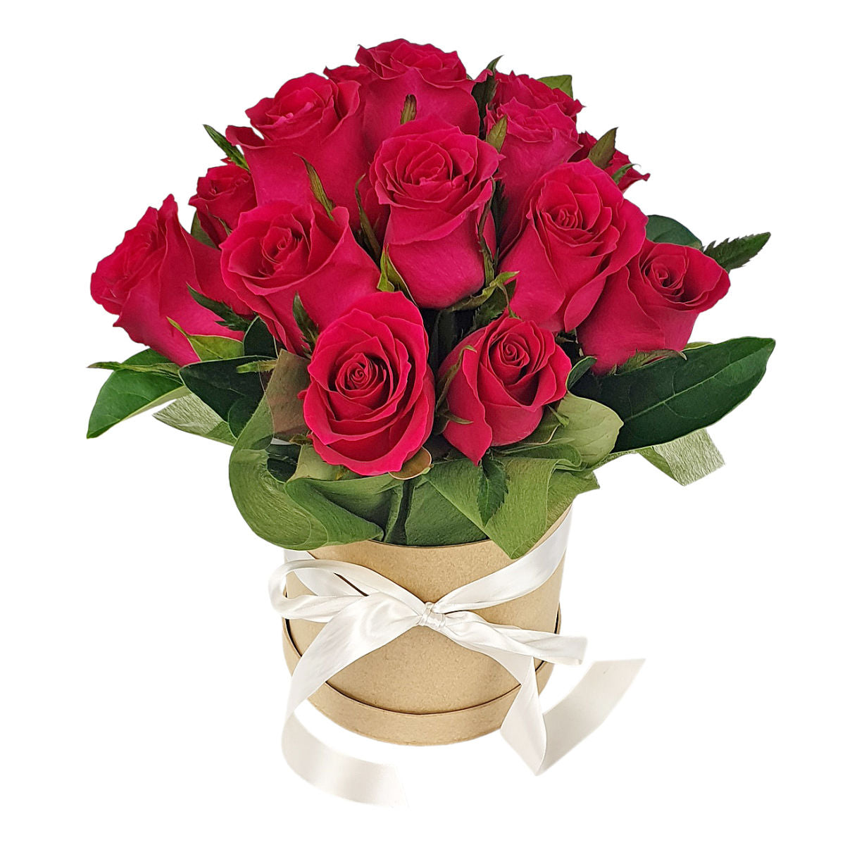 Red Roses Round Box - So Fancy