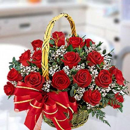 Red Roses Arrangement - VD - Arabian Petals