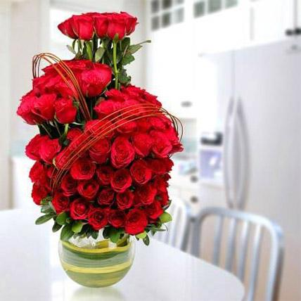 Romantic Arrangement - VD - Arabian Petals