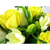 Roses and Freesias boxed