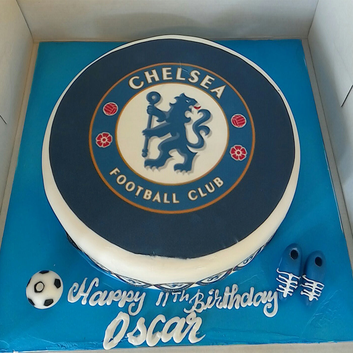 Chelsea Football Club Cake - CWD - Arabian Petals