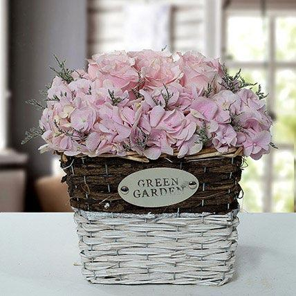 Stupendous Flower Basket Arrangement - FWR - Arabian Petals