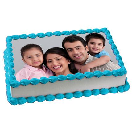 Tempting Photo Cake - Arabian Petals