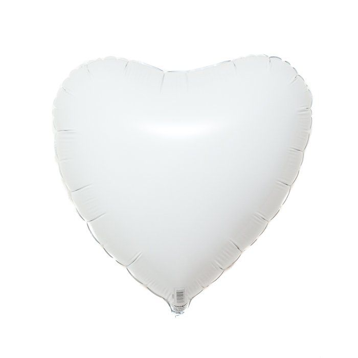 White Heart Foil Balloon  - VD
