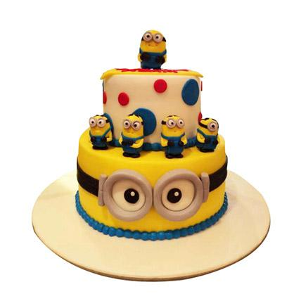 World Of Minions Cake - Arabian Petals