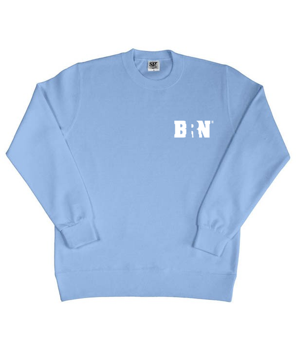 UNISEX - BRN® Blue Sweater 'Instructor'
