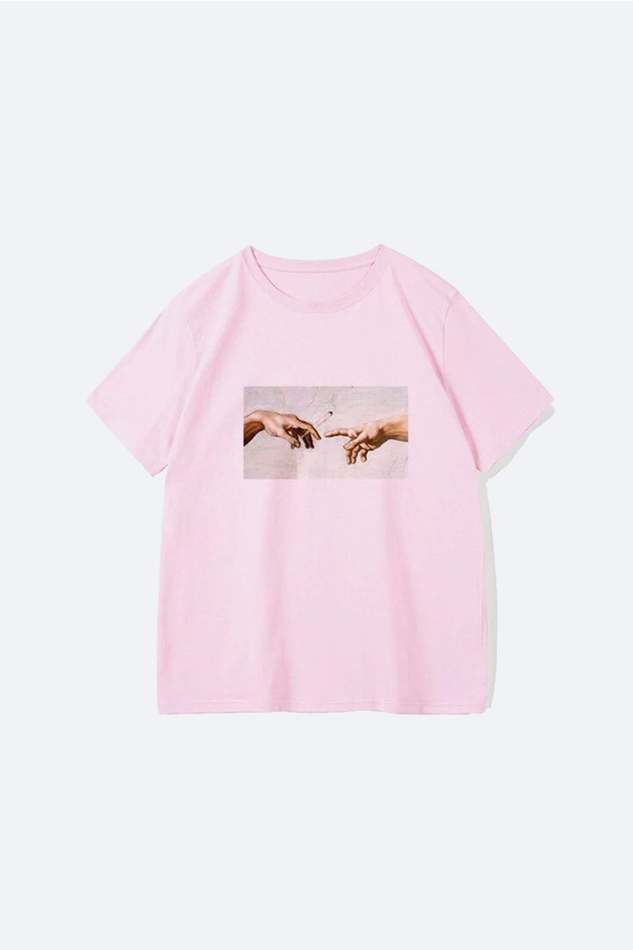 Michelangelo T-Shirt in Pink