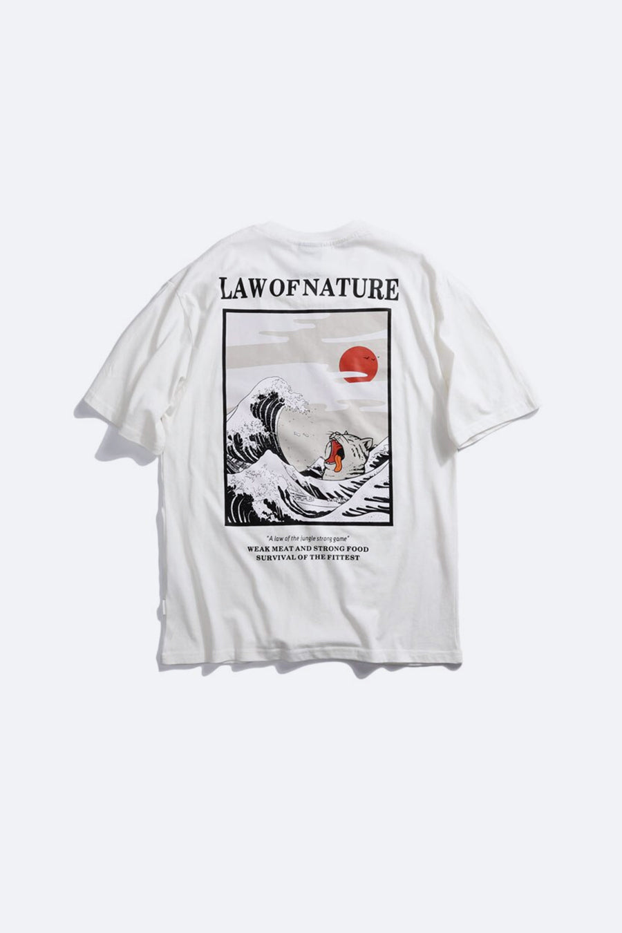 Law of Nature Sea T-shirt