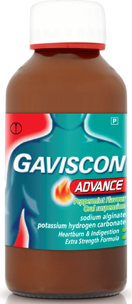 Gaviscon Advance 300ml Peppermint Liquid