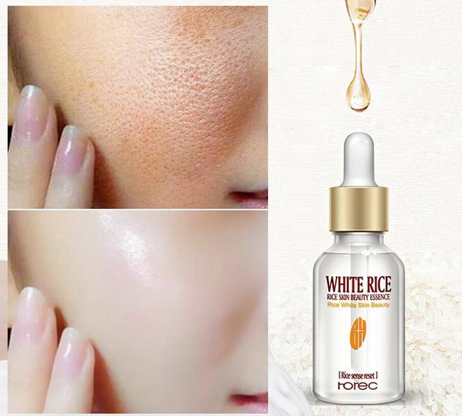 White Rice Whitening Serum Face Moisturizing Cream