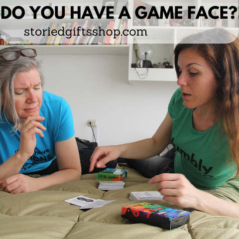 do you have a game face sherry and alex playing tell me another
