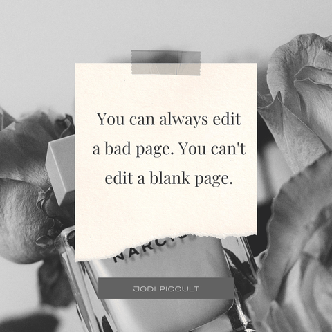 cant edit a blank page quote