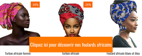 foulards africains