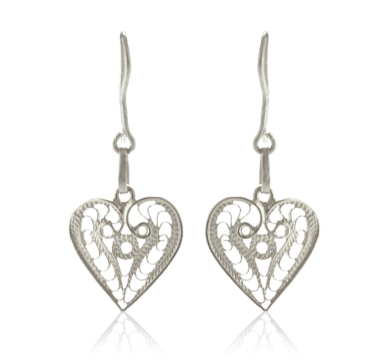 ''Kardia'' Earrings Silver