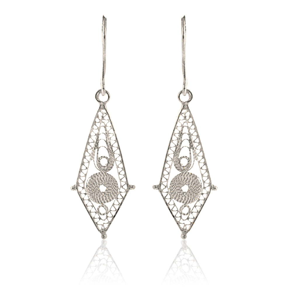 ''Balitses'' Earrings Silver