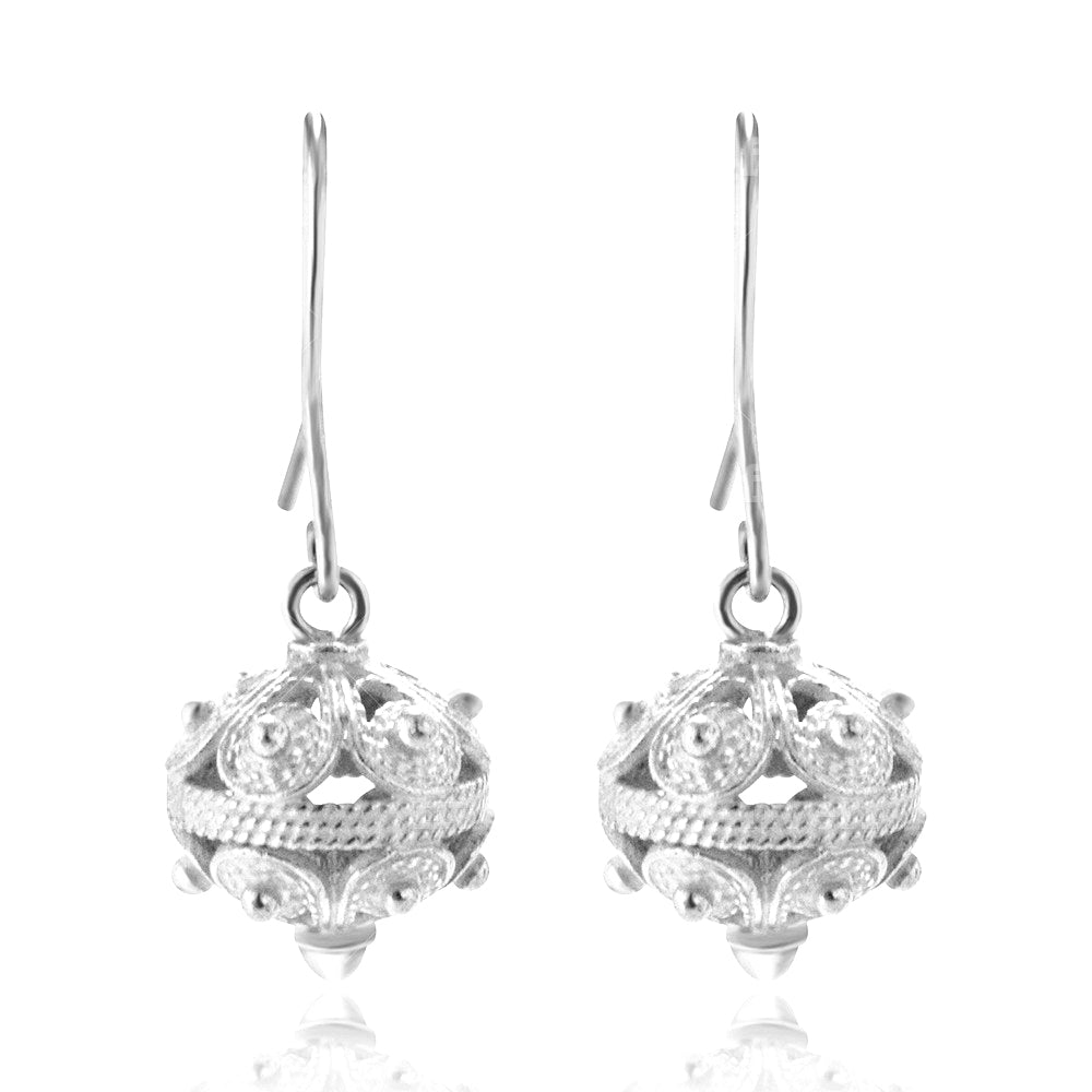 ''Toutouni'' Earrings Silver