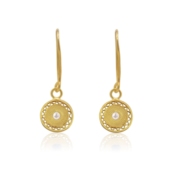 'Helios' Mini Birthstone Earrings
