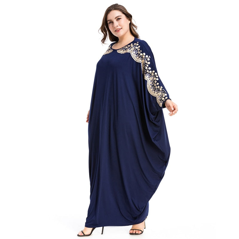 Plus Size Kaftan | Loose Maxi Dress